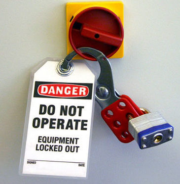 Lock Out / Tag Out Training(LOTO)