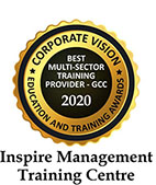 INSPIRE TRAINING ACADEMY awarded as the Best Multi Sector Training Centre – GCC and eLearning Innovators of the Year