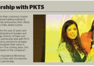 ITA Seals New Partnership With PKTS